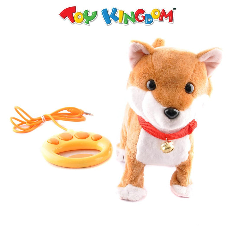 Walk My Dog Shiba Battery Operated Toy