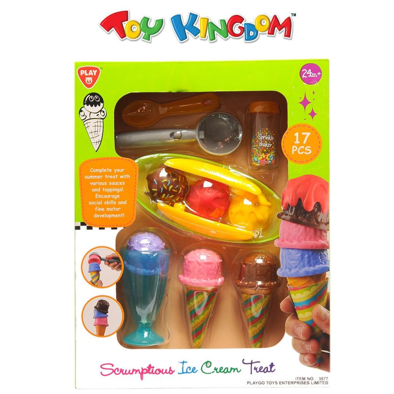 PlayGo Scrumptious Ice Cream Treat Toy for Toddlers