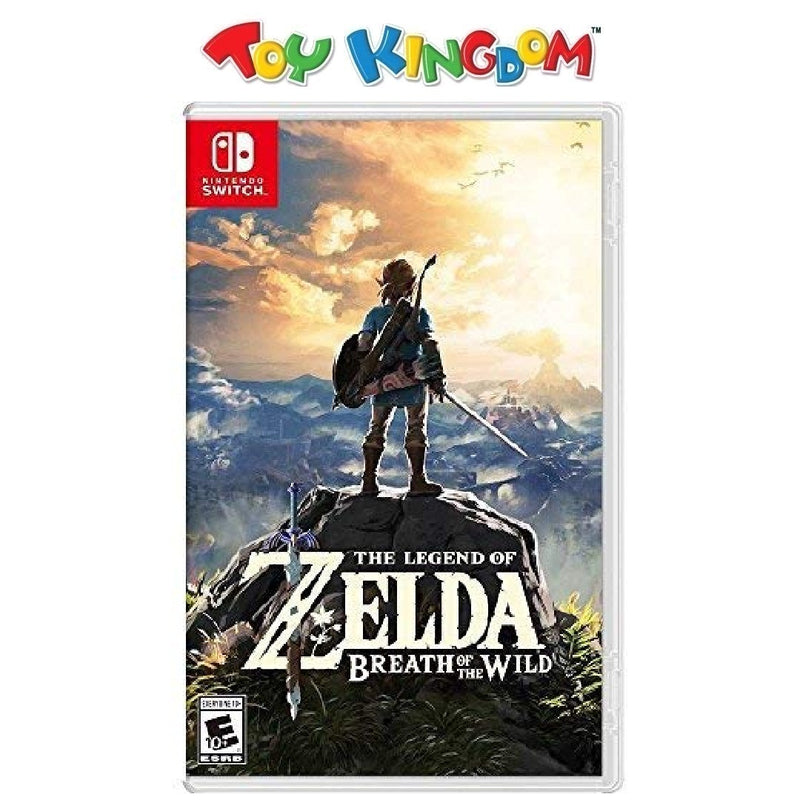 Nintendo Switch The Legend of Zelda Breath of the Wild Game