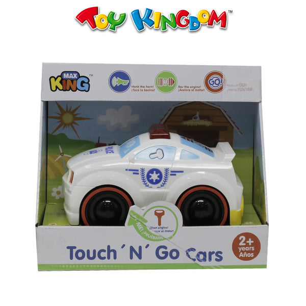 Touch N' Go Police Cars White for Boys