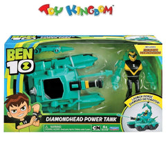 Ben 10 Diamondhead Power Tank Playset for Boys
