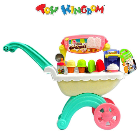 PlayGo Talking Scooper Ice Cream Cart for Kids