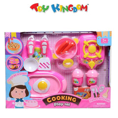 Happy Kitchen Cooking Playset for Girls