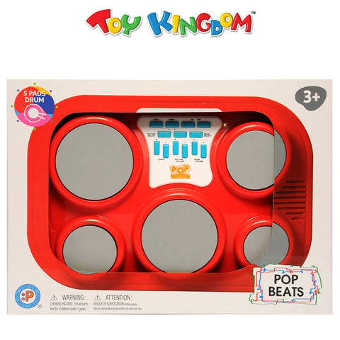 Pop Beats 5 Pads Drum Musical Toy for Kids