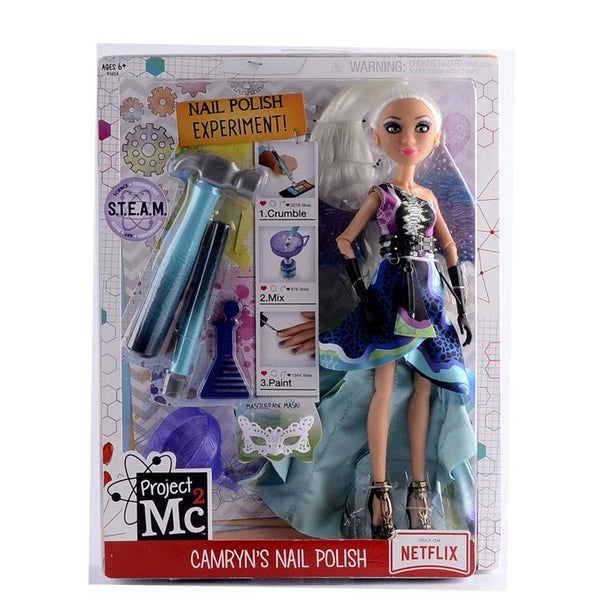 Project MC 2 Camryn's Nail Polish Doll Toy for Girls
