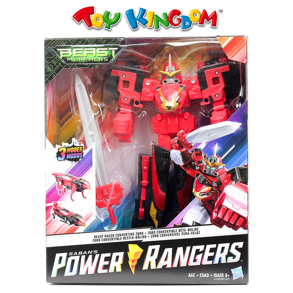 Power Rangers Beast Morphers Beast Racer Converting Zord Action Figure Toy for Boys