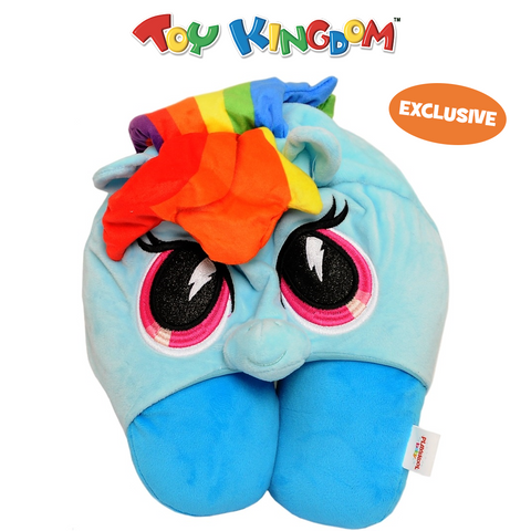 My Little Pony Rainbow Dash Hooded Neck Pillow for Kids