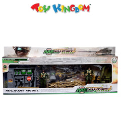 Military Model Military Equipment Series Armed Forces With Rescue Tools Playset for Boys