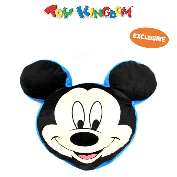 Mickey Mouse 20-inch Head Cushion Pillow