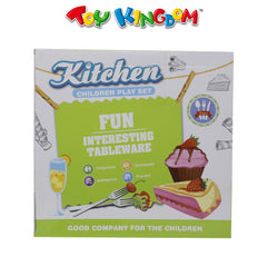 Kitchen Children Play Set Burger for Kids