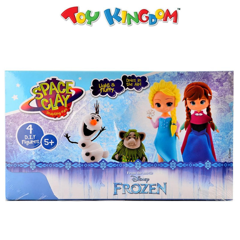 Space Clay Disney Frozen 4 Do It Yourself Figures