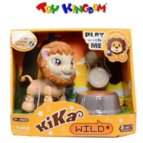Kika Smart Tap Singing Wild Lion Collectible Figure for Kids