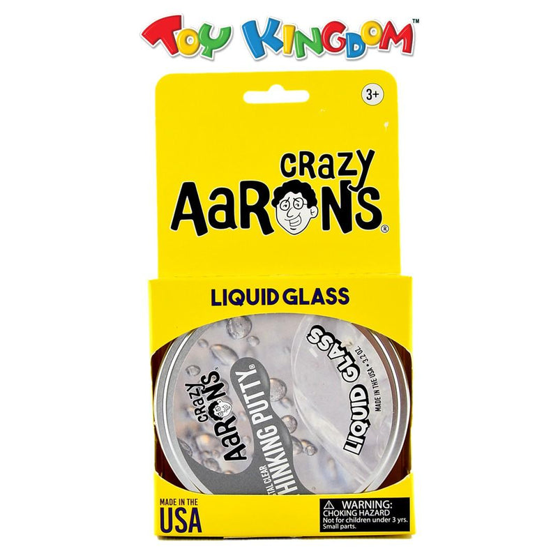 Crazy Aarons Crystal Clear Thinking Putty Liquid Glass for Kids