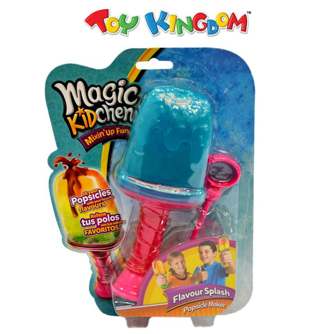 Magic Kidchen Flavour Splash Popsicle Maker Blue Toy for Kids