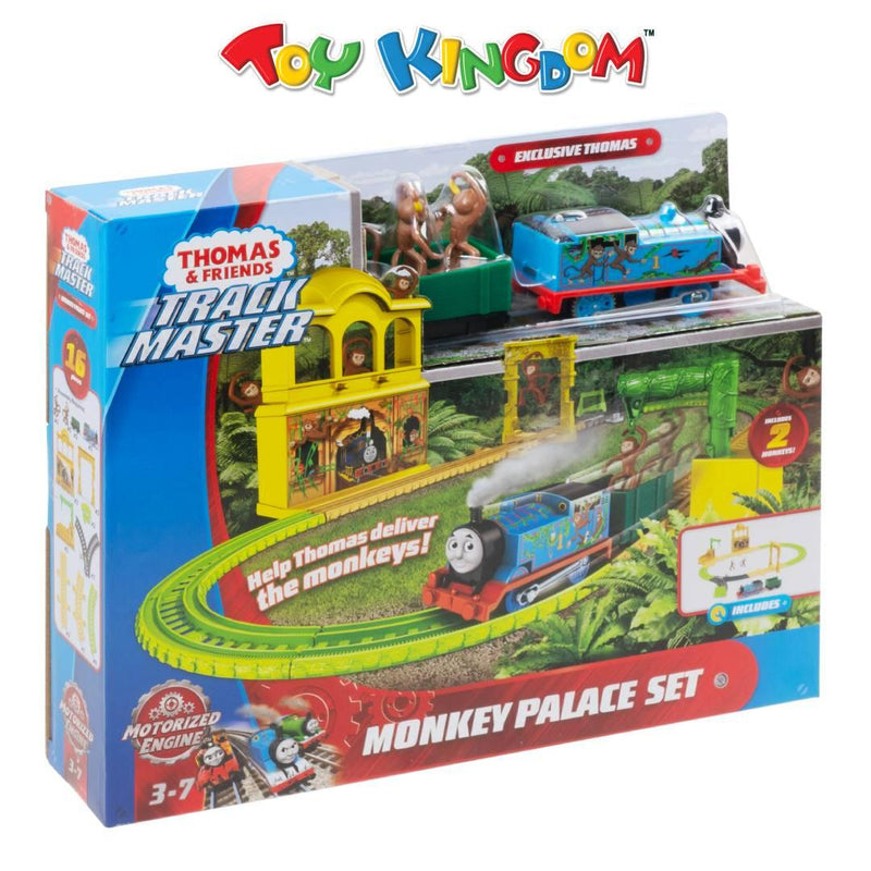 Thomas & Friends Track Master Monkey Palace Train Playset for Kids