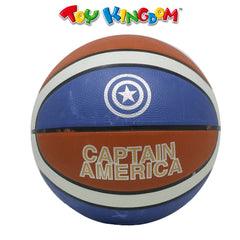 Capt. America Basketball Senior for Kids