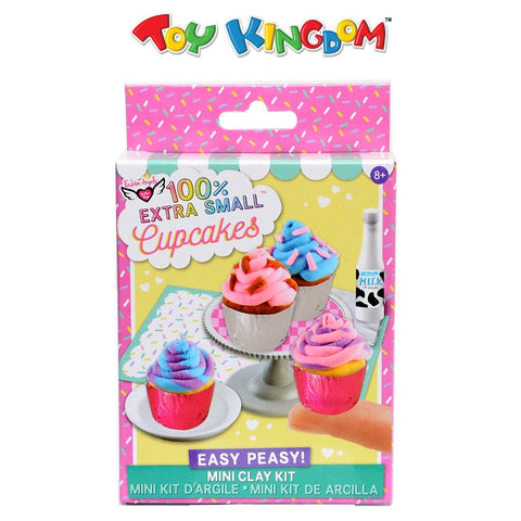 Fashion Angels 100% Extra Small Mini Clay Kit: Cupcakes for Kids