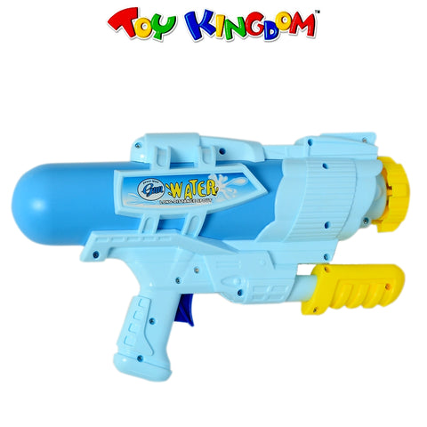 Blue Power Blow Water Gun Water Blaster Toy for Kids