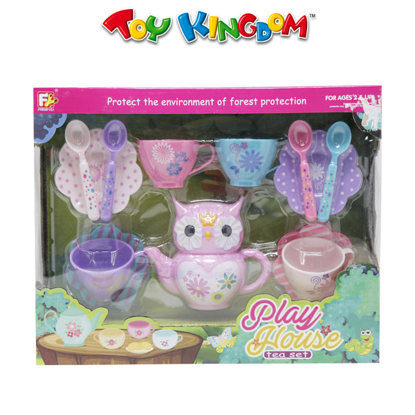 Play House Owl Tea Set for Girls