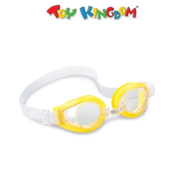 Intex Aquaflow Play Goggles (Yellow) for Kids