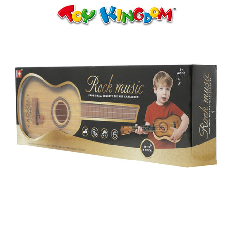 Rock Music Guitar Brown for Kids