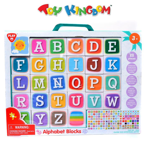 PlayGo Alphabet Blocks Toy for Kids