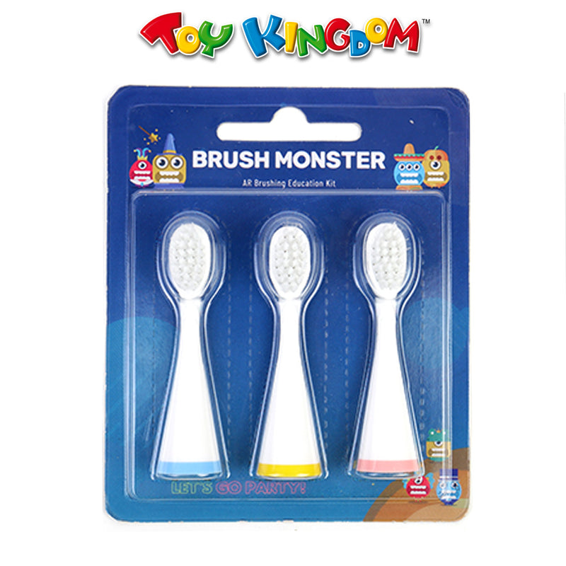 Brush Monster Smart Toothbrush Replacement Head Set for Kids