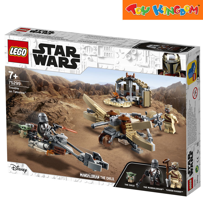 LEGO® Star Wars™ 75299 Trouble on Tatooine, Age 7+, Building Blocks, 2021 (276pcs)