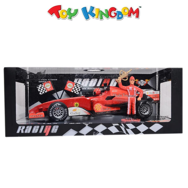 1:18 Scale Racing Car (Red) for Boys