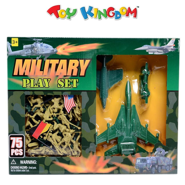75 pcs Military Playset for Boys