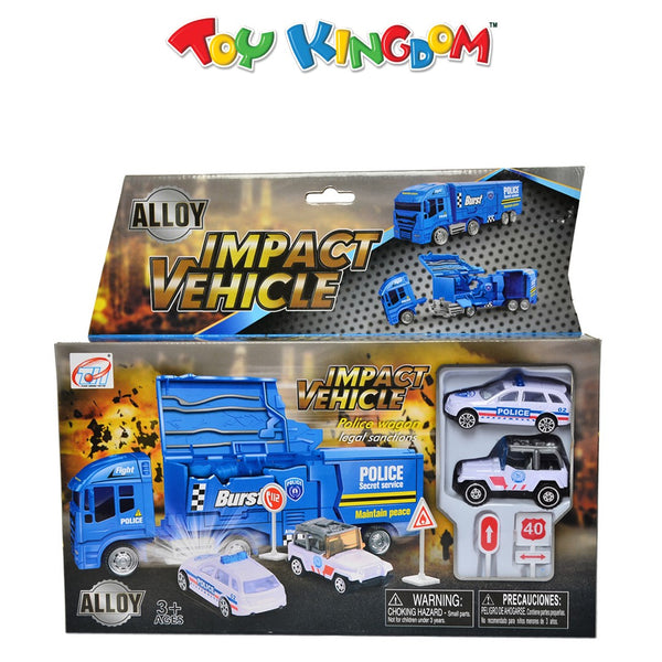 Impact Vehicle Police Wagon Legal Sanctions Playset for Boys