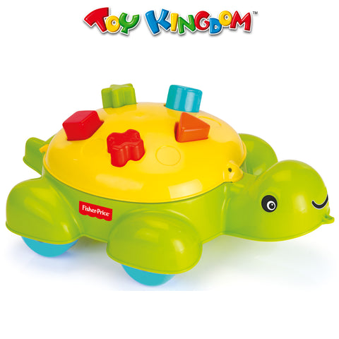 Fisher Price Turtle Shape Sorter for Toddlers