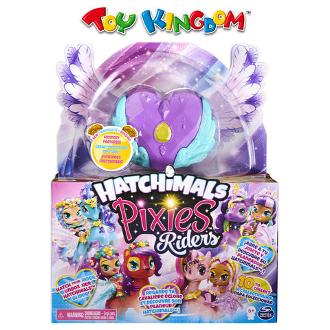 Hatchimals Mini Pixies Riders - Moonlight Mia Pixie and Unicornix Glider Toy for Girls