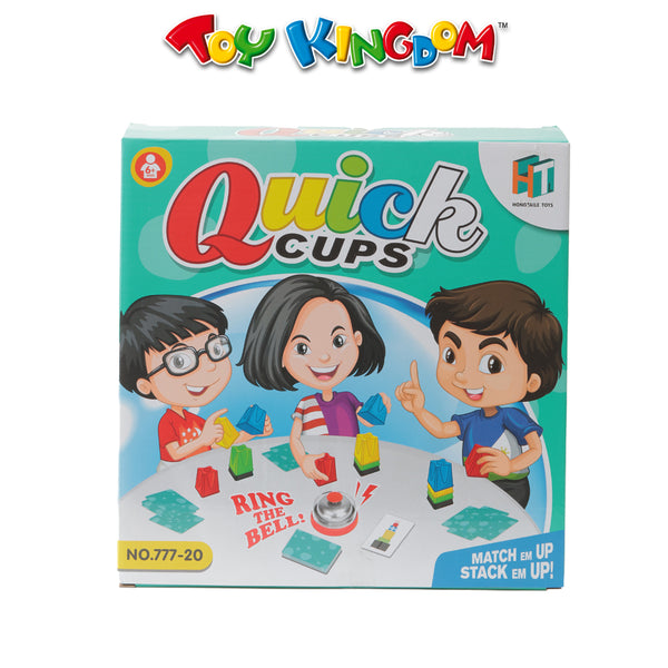 Quick Cups Game for Kids