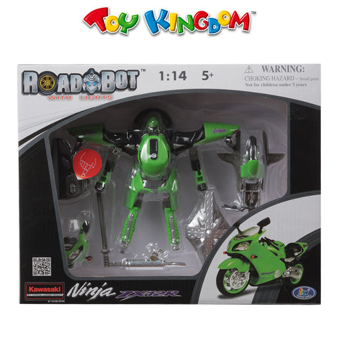 Roadbot Kawasaki Ninja Scale 1:14 Playset for Boys