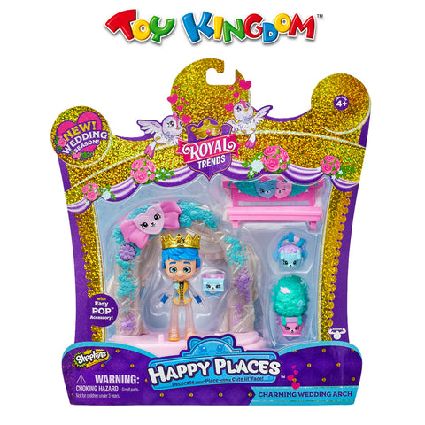 Shopkins Happy Places S8 Happy Scene Pack for Kids