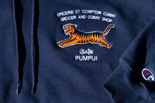 Load image into Gallery viewer, Tiger Hoodie Navy