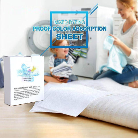 Anti-Dyeing Color Absorption Sheet (24 pcs) - household-ideals