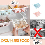 Pull-Out Refrigerator Storage Box - household-ideals