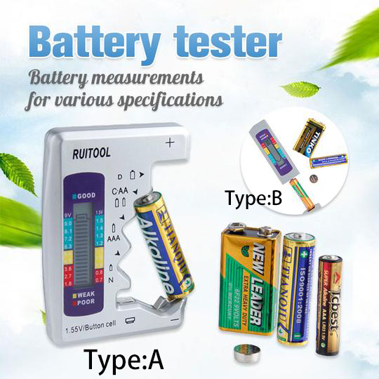 Battery Tester Checker - household-ideals