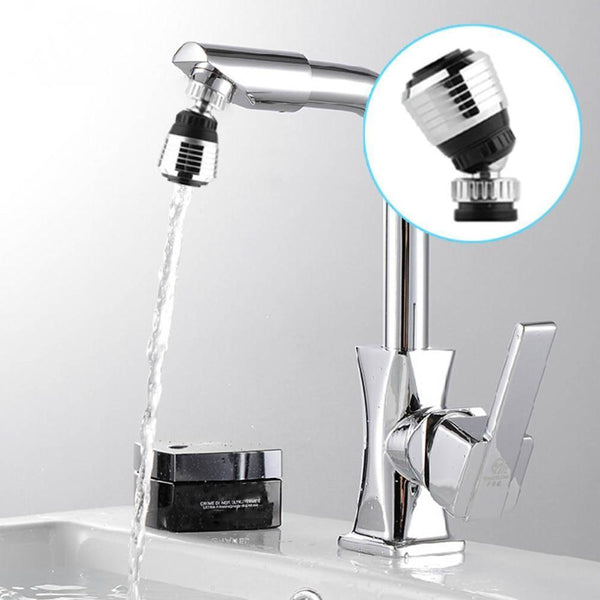 Water-Saving Swivel Faucet Nozzle - household-ideals