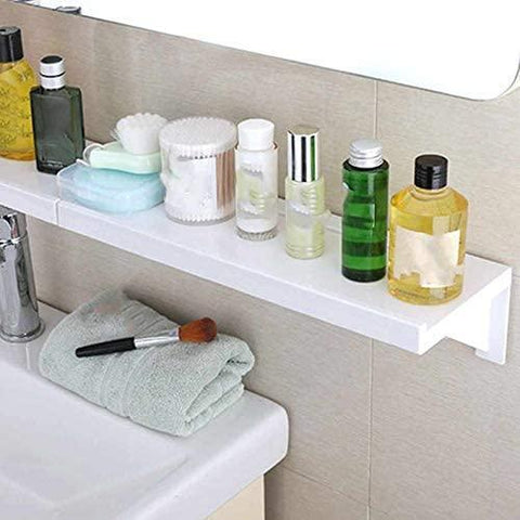 Drill-free bathroom Shelving (2 pieces) - household-ideals