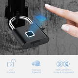 Smart Fingerprint Padlock - household-ideals