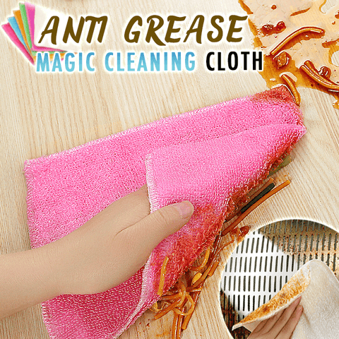 Anti-Grease Magic Cleaning Cloth (Set of 3) - household-ideals