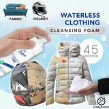 Waterless Clothing Cleansing Foam - household-ideals