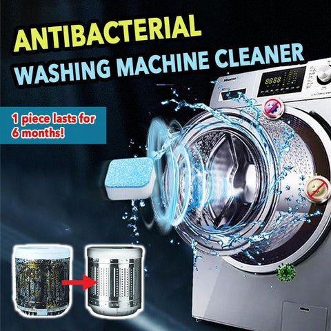 Anti-bacterial Washing Machine Cleaner (12 pcs) - household-ideals
