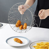 Foldable frying basket - household-ideals