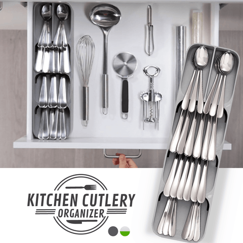 Kitchen Cutlery Organizer - household-ideals