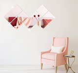 Self-adhesive Mirror Pieces (16 pieces in set) - household-ideals