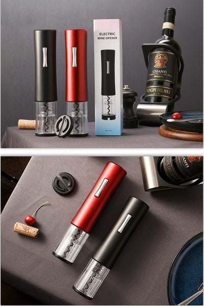 Electric Wine Bottle Opener - household-ideals